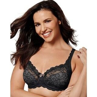 Playtex Love My Curves Sexy Lift UW Bra - Black - Size - 40D