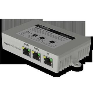 CyberData CD-011187M 2 Port PoE Gigabit Switch
