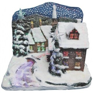 """Holiday Basix FBS12SB003AA-A Christmas Village, Frosted Castle, 12"""""""