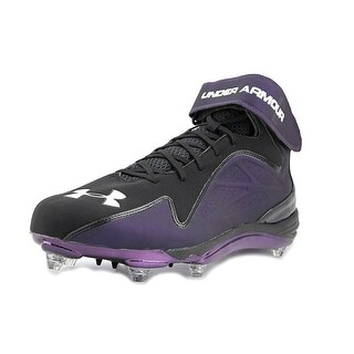 Under Armour Team Renegade D COM Men Round Toe Synthetic Black Cleats