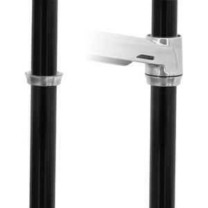 Ergotron - Ergotron Lx Pole Collar.Use With Lx Sit-Stand Arms When Attaching A Second Arm T