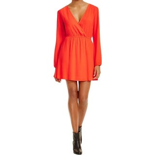 Minkpink Womens Casual Dress Crepe Asymmetric