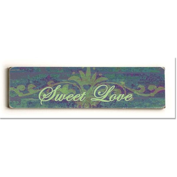Shop ArteHouse 0003-2613-24 Sweet Love Vintage Sign - Free Shipping On  Orders Over  45 - Overstock.com - 24903983 c35f42b164c