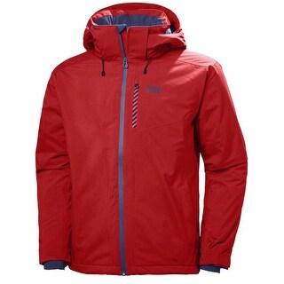 Helly Hansen 2017 Men's Swift 3 Ski Jacket - 65522 - alert red