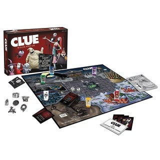 Tim Burton's The Nightmare Before Christmas Clue Board Game