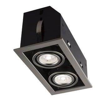 """Bazz Lighting CL312A Led Cube 5"""" GU10 Square Trim Integrated Recessed Fixture"""