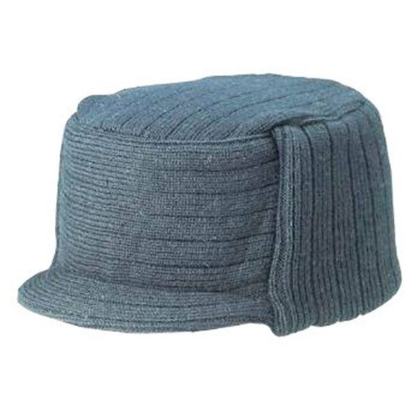 31f3981200b18 Shop Charcoal Winter Flat Top Jeep Cap Hat - Free Shipping On Orders Over   45 - Overstock - 20669610