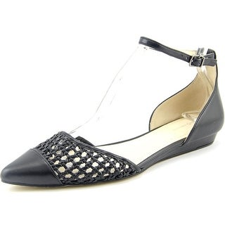 BCBGeneration Hunny-X Women Pointed Toe Synthetic Black Flats