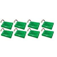 Replacement VTech i6788 / mi6885 NiMH Cordless Phone Battery - 600mAh / 3.6V (8 Pack)