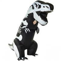 Morris MHMCKGITS Skeleton T-Rex Inflatable Child Costume