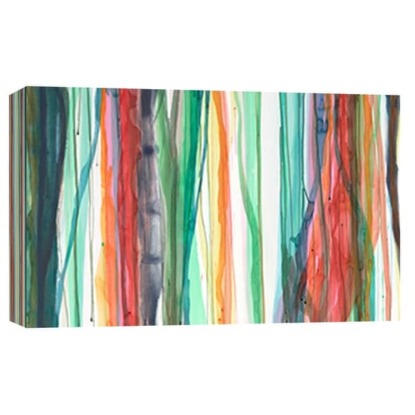 """PTM Images 9-101844 PTM Canvas Collection 8"""" x 10"""" - """"Sunshower 2"""" Giclee Abstract Art Print on Canvas"""