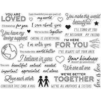 """Hero Arts Clear Stamps 4""""X6""""-You Are Loved"""
