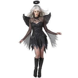 California Costumes Fallen Angel Adult Costume - Black