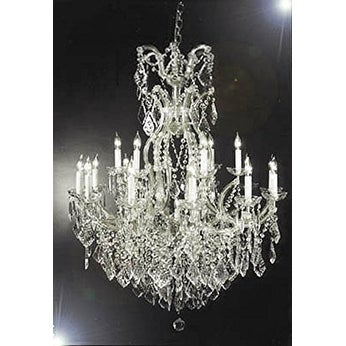 Swarovski crystal lighting Contemporary Shop Swarovski Crystal Trimmed Chandelier Chandelier Crystal Lighting Chandeliers Silver On Sale Free Shipping Today Overstockcom 20598728 Inviting Home Shop Swarovski Crystal Trimmed Chandelier Chandelier Crystal