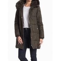 Sam Edelman Women's Small Hooded Oversized Parka Coat