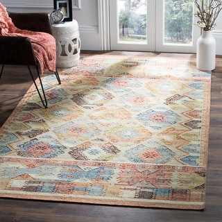 Link to Safavieh Handmade Canyon Laurine Boho Tribal Wool Rug Similar Items in Rugs