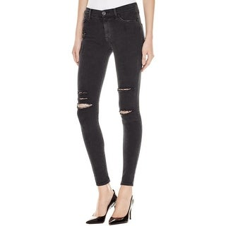 Hudson Womens Nico Skinny Jeans Mid-Rise Destroyed (More options available)