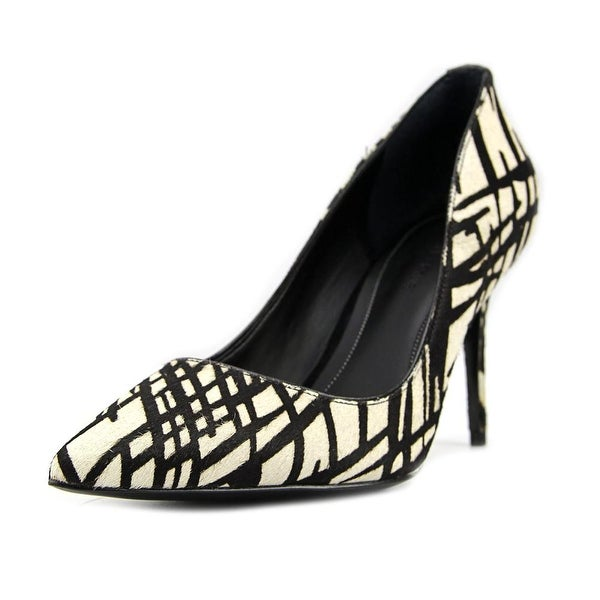 Kendall + Kylie Britney Women Pointed Toe Leather Multi Color Heels