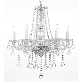 Swarovski Crystal Trimmed Chandelier Lighting H25 x W24