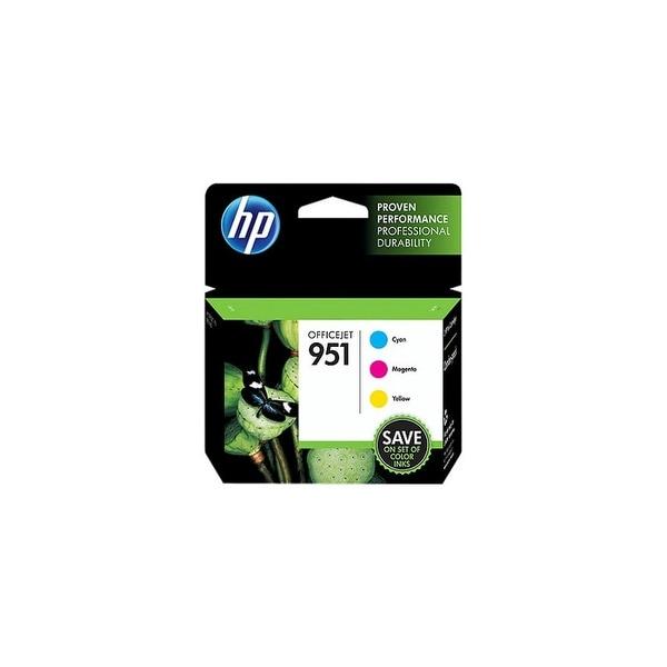Hewlett Packard CR314FN#140 HP 951 Ink Cartridge - Cyan, Magenta, Yellow - Inkjet - Standard Yield -