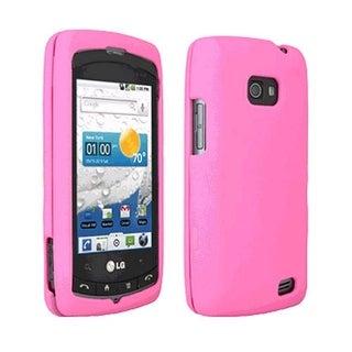 OEM Verizon Snap-On Gel Case for LG Ally VS740 (Pink) (Bulk Packaging)