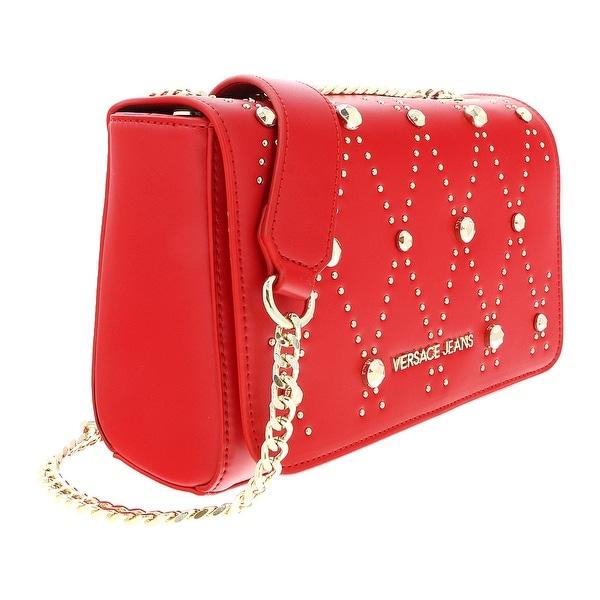 551123ba305d Shop Versace EE1VSBBEB E331 Red Shoulder Bag - 9-6.5-3.5 - Free ...
