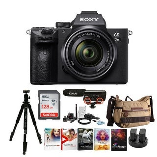 Link to Sony Alpha a7iii Digital Camera with 28-70mm Lens and Accessory Bundle Similar Items in Digital Cameras
