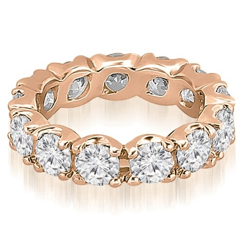 2.70 cttw. 14K Rose Gold Round Diamond Eternity Ring