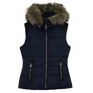 Michael Michael Kors Navy Down Puffer Vest (2 options available)