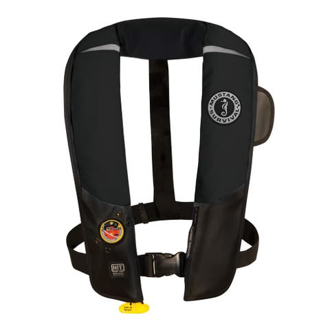Mustang hit inflatable pfd automatic black