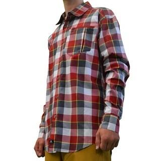 Salomon Equation LS Shirt, Mens - Red - S