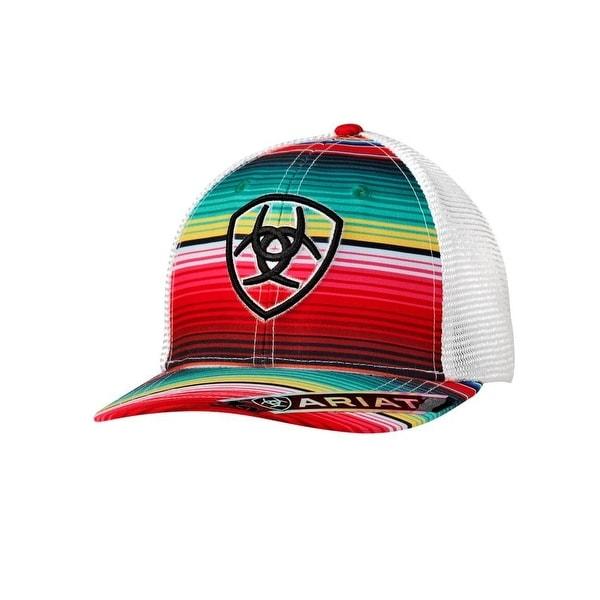 promo code 043eb 58060 ... cheapest shop ariat western hat womens serape brim baseball os multi  color free shipping on orders