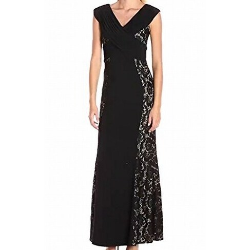0344447268d Shop Decode 1.8 NEW Black Womens Size 10 Lace Illusion V-Neck Gown Dress -  Free Shipping On Orders Over  45 - Overstock.com - 20270317