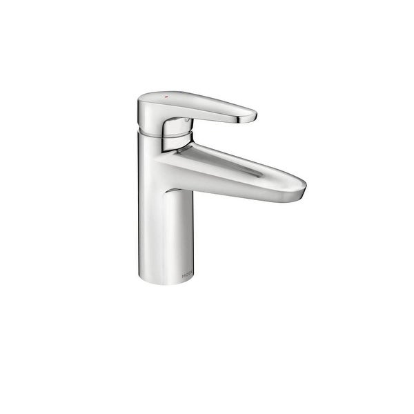 Shop Moen 9417f12 M Dura Single Hole Bathroom Faucet Chrome Na