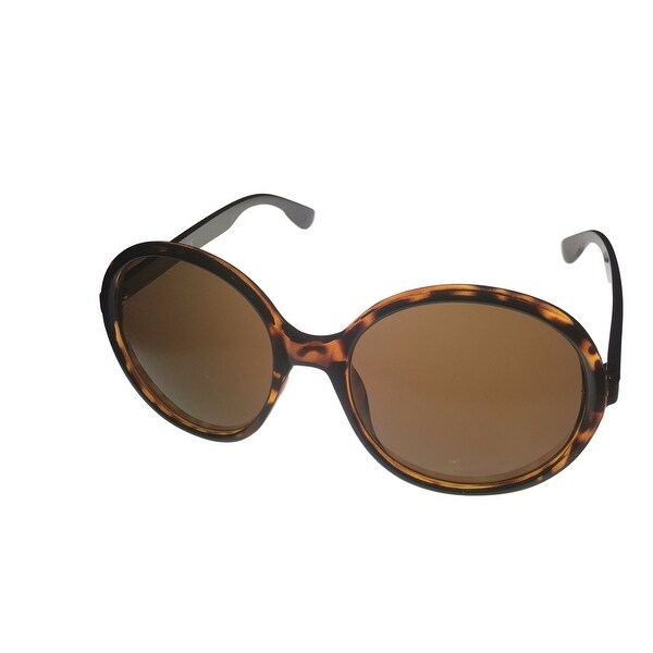 Kenneth Cole Reaction Womens Sunglass Round Tortoise Plastic Gradient KC1229 52E - Medium