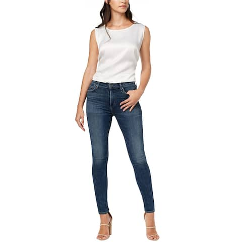 Citizens Of Humanity Womens Rocket Skinny Fit Jeans, Blue, 25
