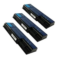 Battery for Acer AS07B72 (3-Pack) Replacement Battery