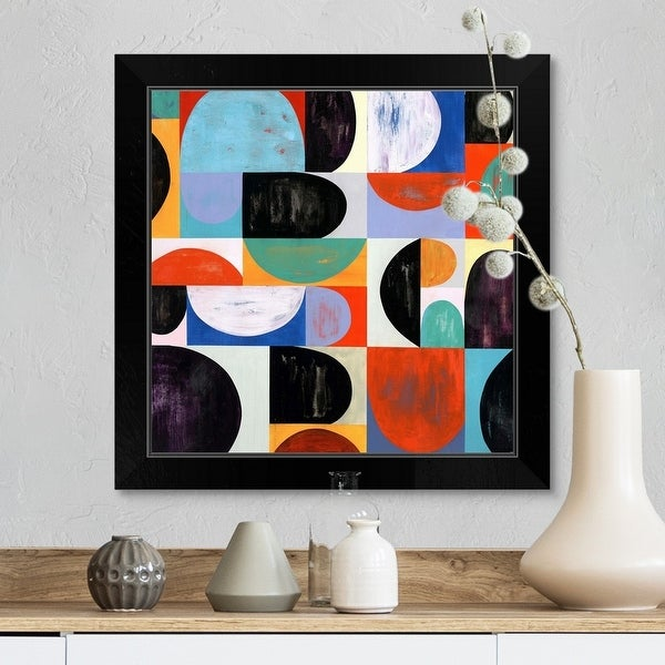 """""""Hint of Color I"""" Black Framed Print. Opens flyout."""