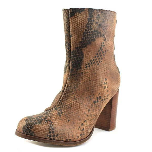 Musse & Cloud Millie Women Round Toe Leather Ankle Boot