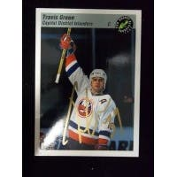 Signed Green Travis New York Islanders 1993 Classic Games Hockey Card autographed