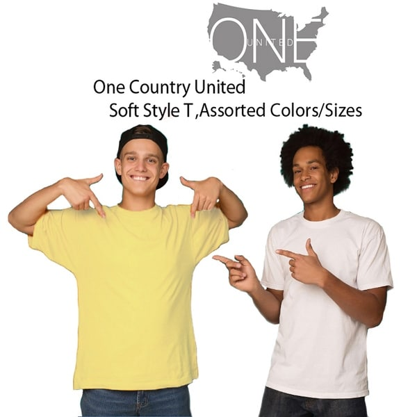 One Country United Mens SofTrend T