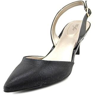 Alfani Cassays Pointed Toe Synthetic Slingback Heel