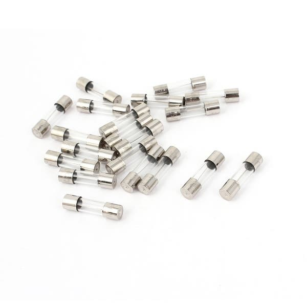 0.25A 250V Glass Fuse  5mm x 20mm Fast Blow Pack of 20