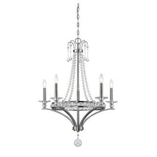 Savoy House 1-400-5 Alana 5 Light Chandelier