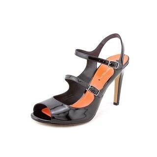 Via Spiga Roseanne Women Open Toe Patent Leather Sandals