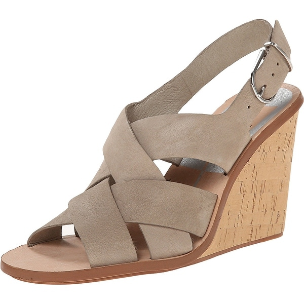 Dolce Vita Womens Remie Leather Open Toe Special Occasion Platform Sandals