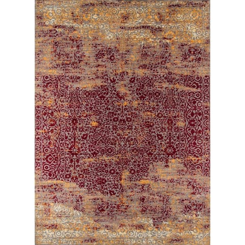 Momeni Petra Polyester Traditional Area Rug