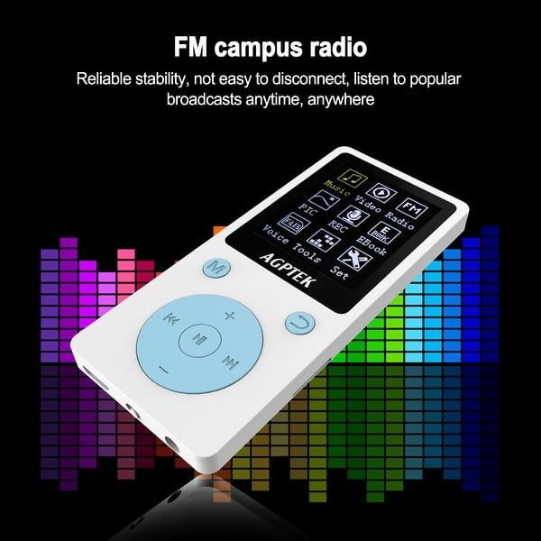 Shop AGPtEK Fashion Portable MP3 Player w/ 1 8