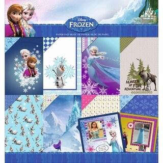 """Disney Paper Pad 12""""X12""""-Frozen"""