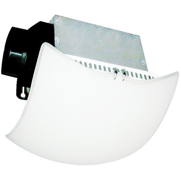 Air King AKLC70DW Decorative Quiet Exhaust Fan, 70 CFM, White